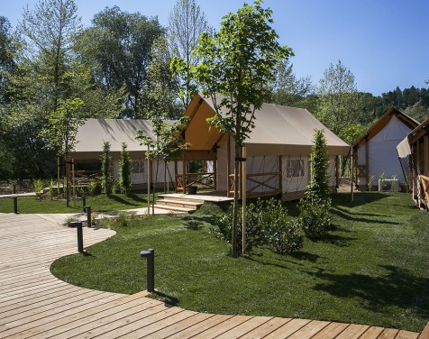 resort glamping olimia adria village