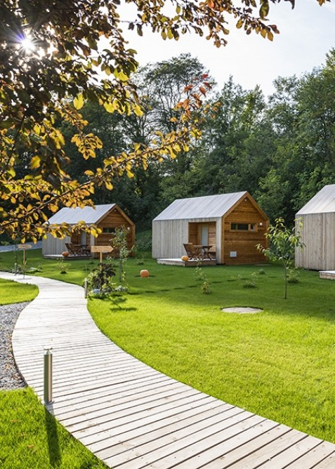 glamping resort mountin fairy tale