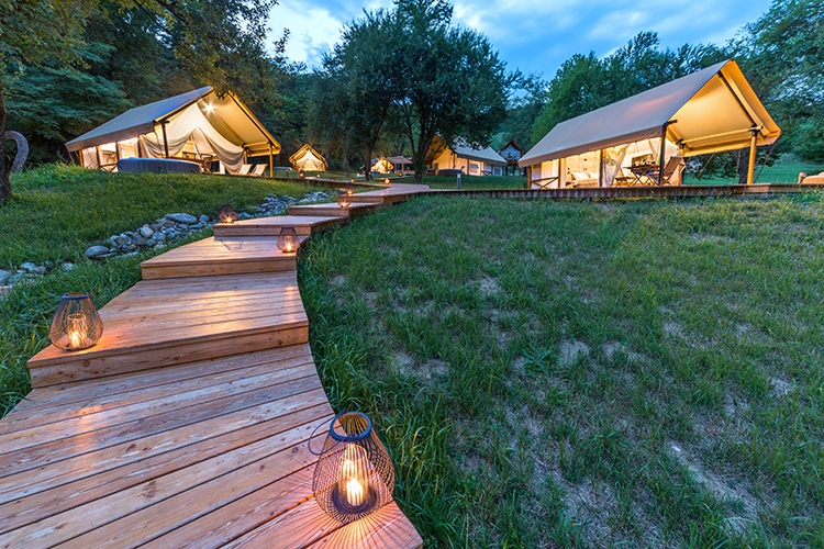 vineyard glamping chateau ramsak